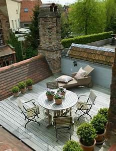 Ideen Für Kleine Terrassen : eine dachterrasse gestalten neue fantastische ideen ~ Lizthompson.info Haus und Dekorationen