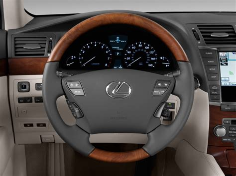 image  lexus ls   door sedan  rwd steering wheel