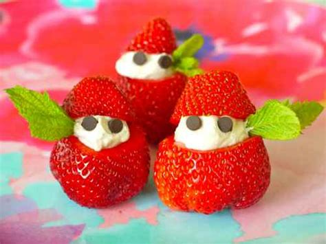 ideas for strawberries cutest fruit snack idea stuffed strawberry quot elves quot i love my kids blog