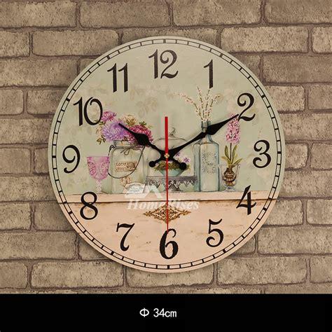 cheap wall clocks    wood unique wooden