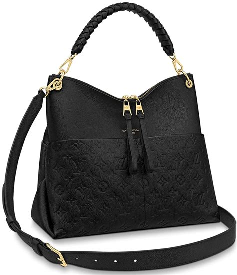 louis vuitton monogram empreinte maida hobo bag bragmybag