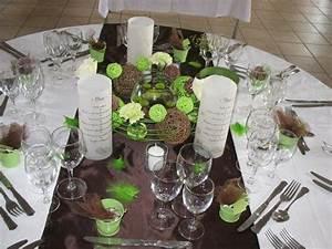 Centre De Table Chocolat : 1000 id es sur le th me table ronde de mariage sur ~ Zukunftsfamilie.com Idées de Décoration
