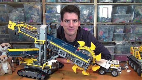 Lego® Technic 42055  Schaufelradbagger Youtube
