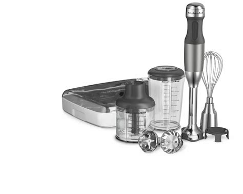 Kitchenaid Immersion Blender Review by Kitchenaid Khb2561cu 5 Speed Immersion Blender Silver