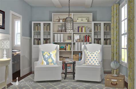 home design ideas home library design