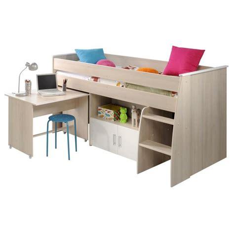 lit combiné avec bureau lit 90x200cm combiné avec bureau quot romeo quot beige