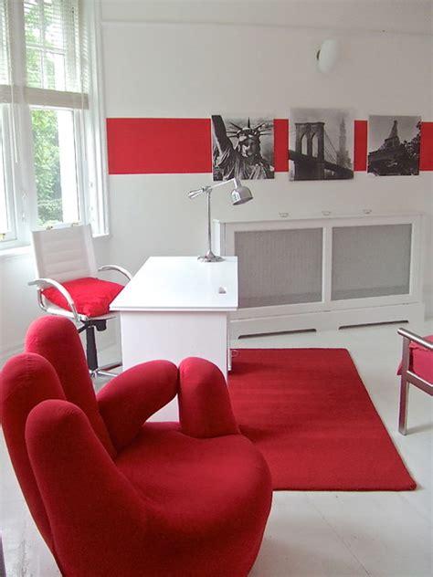 retro red teen room modern bedroom london