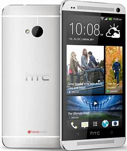 HTC One M7 32GB Android Smartphone for Verizon - Silver ...