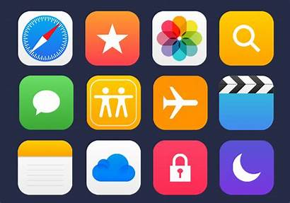 Icons Apple Vector Apps App Mobile Graphicsfuel