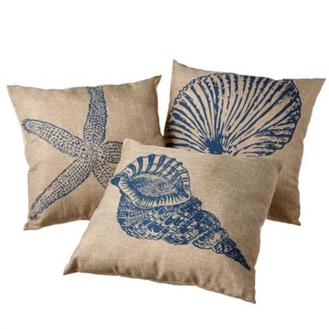 coastal throw pillows coastal square pillows set of 3 midwest cbk