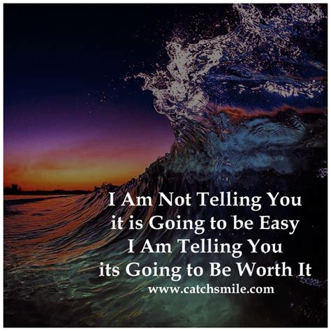i am not telling you it is going to be easy i am telling i am not telling you it is going to be easy i am telling