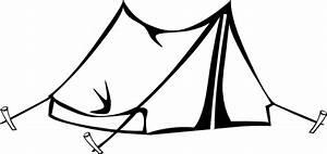 White Black Tent Clip Art at Clker.com - vector clip art ...