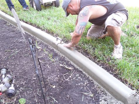 concrete lawn edging concrete landscape edging be my guest with denise