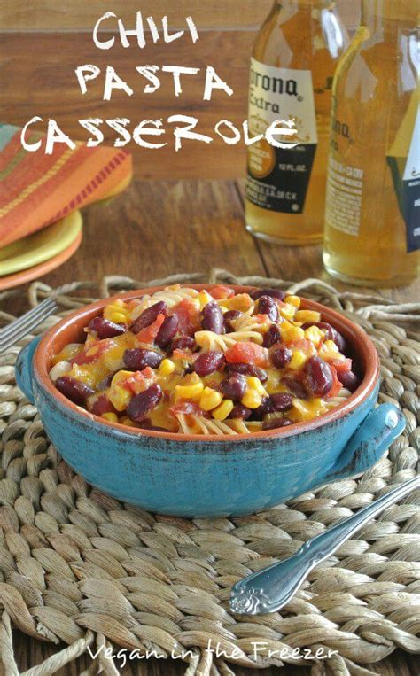 Everybody understands the stuggle of getting dinner on the table after a long day. Chili Pasta Casserole is a comfort dish that is easy to make & will be enjoyed by the whole ...
