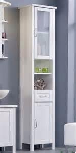 badezimmer hochschrank holz badezimmer schrank hochschrank weiß bad möbel vitrine massiv holz kiefer weiss ebay