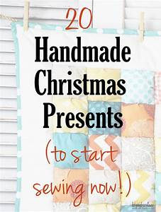 20 Handmade Christmas Gifts to Sew Now