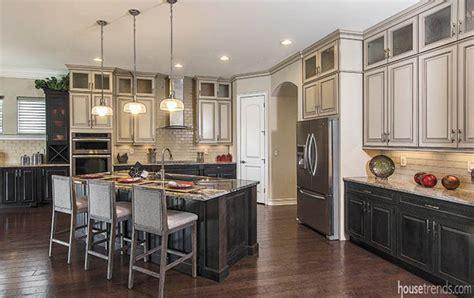 Multicolored Kitchen Cabinets Spark Interest