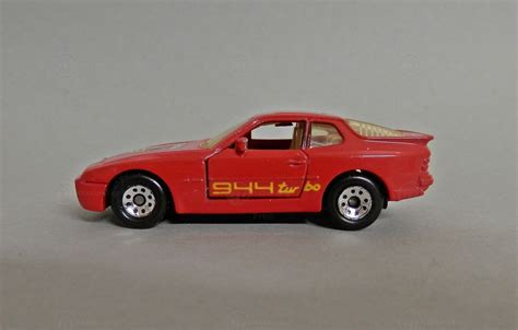 matchbox porsche 944 porsche 944 turbo modelcar matchbox 1 64 in red owned by