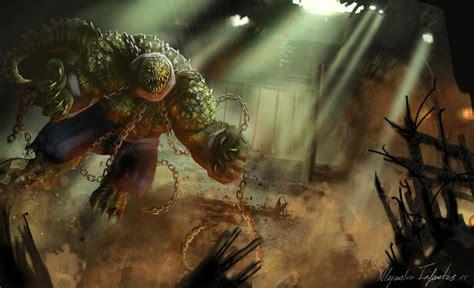 Killer Croc By Alejandroinfantes On Deviantart