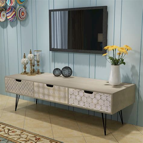 Sideboard Tv Unit by Vidaxl Tv Cabinet Stand Entertainment Unit Sideboard Table