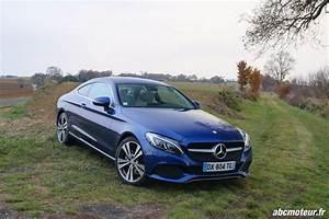 Mercedes Classe C Coupé : essai mercedes classe c coup l gante mais trop sage ~ Medecine-chirurgie-esthetiques.com Avis de Voitures