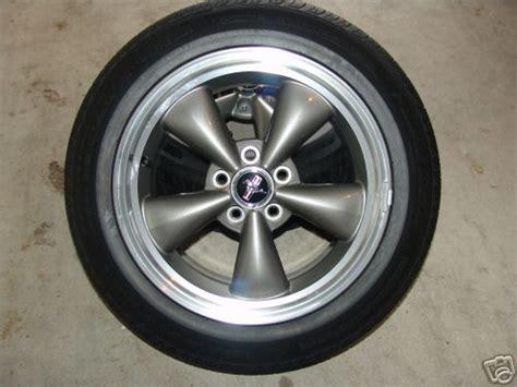 mustang  oem anthracite bullet wheels  tires