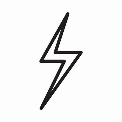 Rayo Icono Icon Gratis Lightning Icons