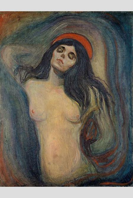 Madonna (Munch painting) - Wikipedia