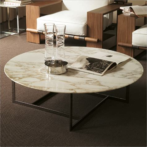 round stone coffee table porada londra 5 round marble coffee table