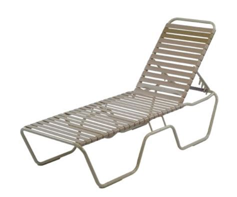 pool furniture supply vinyl commercial chaise