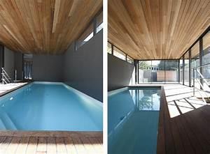 maison contemporaine avec piscine interieure apla With entree de maison design 8 maison contemporaine avec piscine interieure apla