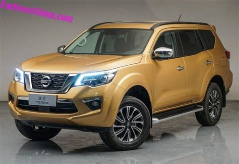nissan terra suv  launch   chinese car market