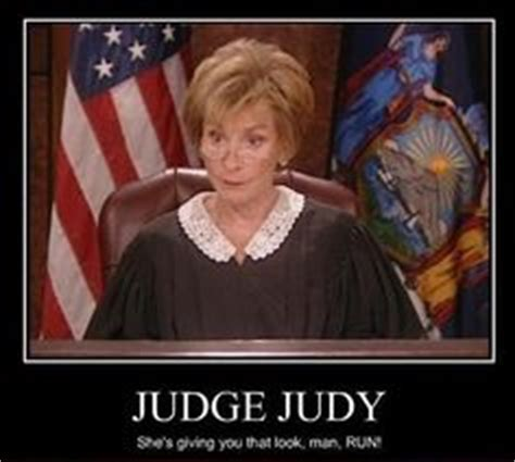 Judge Judy Memes - judge judy quotes quotesgram