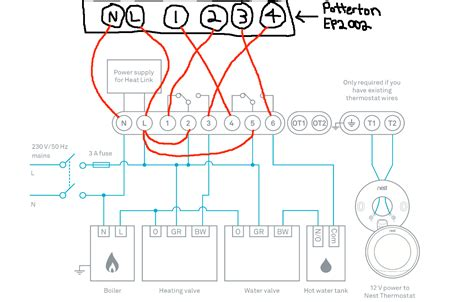 Custom Nest E Wiring Diagram by Water Radiant Floor Heating Thermostat Carpet Vidalondon
