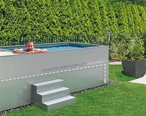 Gartenpool Zum Aufstellen : minipool geht auch auf dem dach ~ Watch28wear.com Haus und Dekorationen