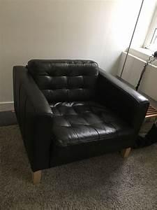 Sofa Taxi Hamburg : armchair in dark brown leather ikea karlsfors in muswell hill london gumtree ~ Orissabook.com Haus und Dekorationen