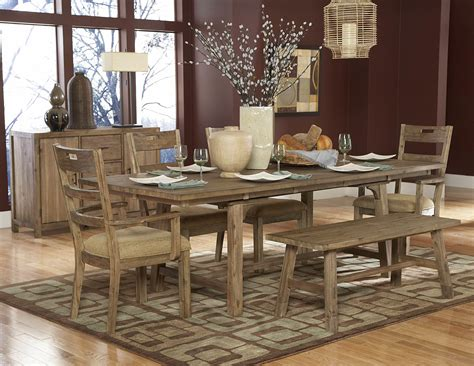rustic dining room furniture bringing cozy nature