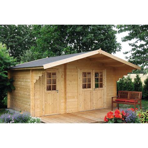 Gartenhaus Holz Satteldach by Satteldach Gartenhaus Caro 34 Klassik 1247507 Let S