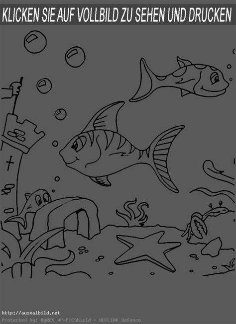 fische  ausmalbild