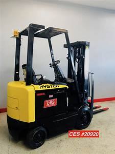 Ces  20920 Hyster E50z-27 Electric Forklift