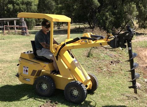 ozziquip puma mini loader auger package machinery direct