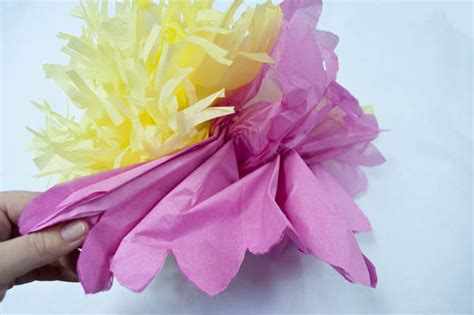 Mexican tissue paper flowers menshealtharts how to make mexican tissue paper flowers clumsy crafter mightylinksfo