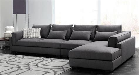 goose feather padded modern fabric sofa set designs salon