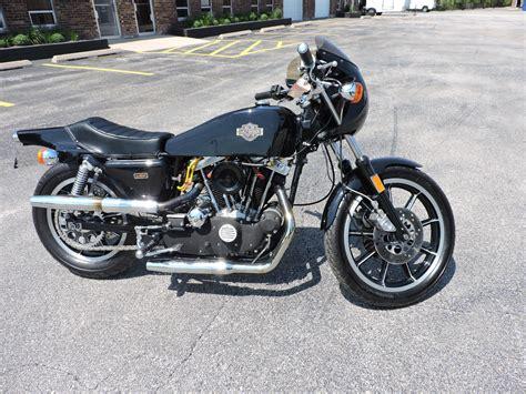 Harley Davidson Cafe Racer For Sale ready to roll 1977 harley davidson sportster xlcr cafe