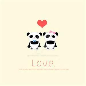 Panda Love by Love-Naoko on DeviantArt