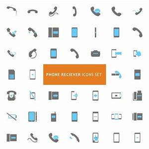 Phone icons Vector   Free Download
