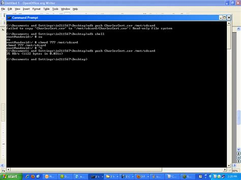 android certificate installer testing android emulator install charles ca