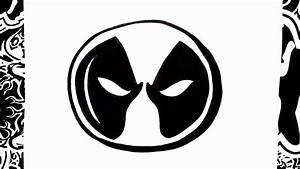 como dibujar el logo de deadpool | how to draw deadpool ...