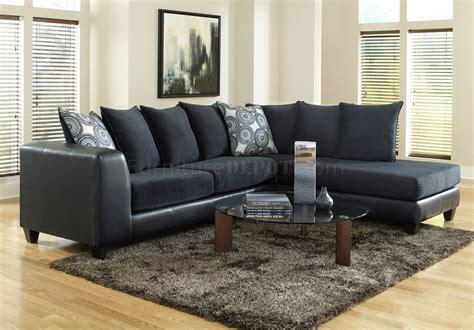 sectional sofa  blue microfiber bi cast