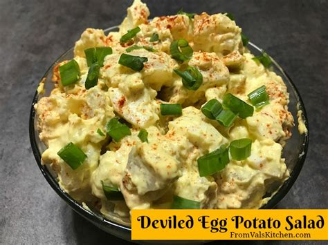 deviled egg potato salad recipe deviled egg potato salad recipe from val s kitchen